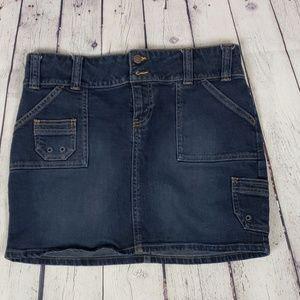 Old Navy Stretch Denim Skirt